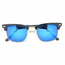 Retro Fashion Half Frame Flash Mirror Lens Sunglasses Mirrored Shades - $11.11