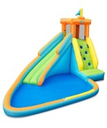 HONEY JOY Inflatable Water Slide, Kids Bounce House w/Long Slide, Climbi... - $529.10