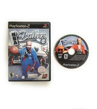 NBA Ballers (PlayStation 2 PS2 2004) Game Disc and Black Label Case Basketball - $9.45