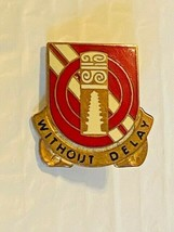 US Military 25th Support Battalion Insignia Pin - Without Delay - $10.00