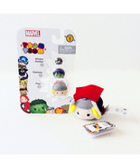 Disney Marvel Tsum Tsum Vinyl Figure 3 Pack & Plush (Thor, Gamora, & More) - $8.00