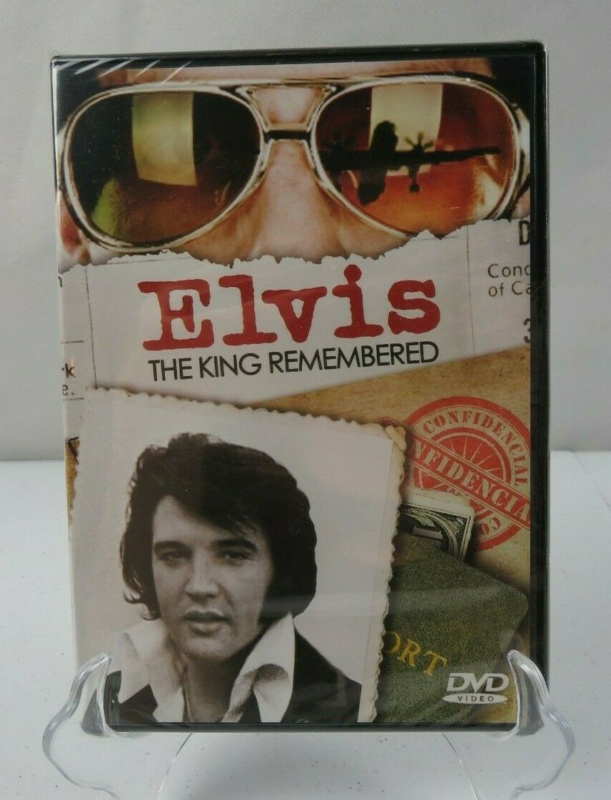 Primary image for Elvis The King Remembered DVD 2014 BRAND NEW SEALED