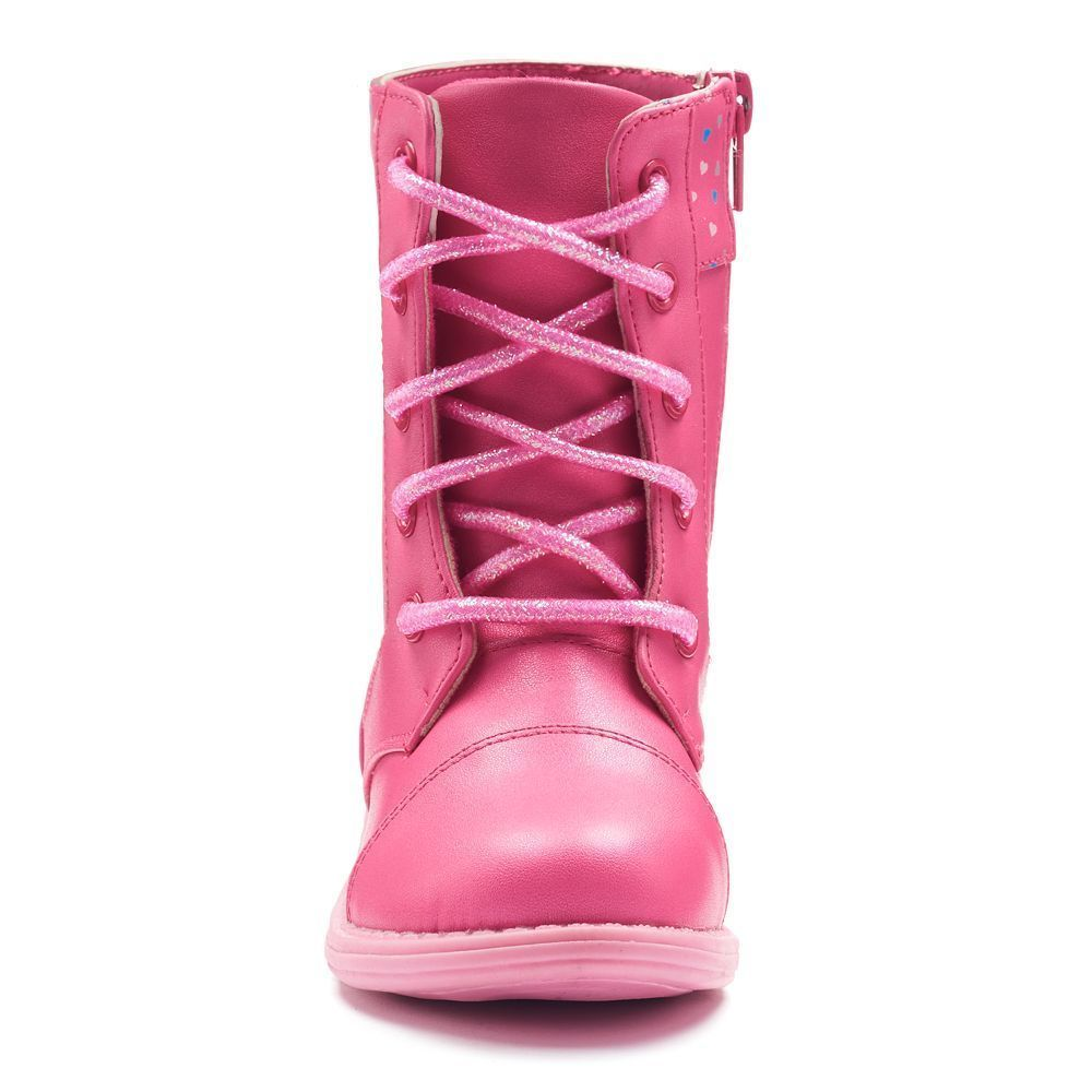 NEW NIB Toddler to Girls Peppa Pig Boots Size 10 or 12 Zip Up Laces