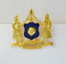 Antique Brooch Traditional Design ! Brooch Gold Vermeil Beautiful Design... - $61.88