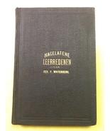 Nagelatene Leerredenen Rev. P. Wayenberg 1895 Hardcover Book - $0.99