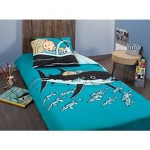 Tintin Shark submarine single duvet cover set square pillow official product