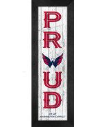 "Washington Capitals ""Proud and Loyal"" - 8 x 24  Wood-Textured Look Frame... - $39.95"