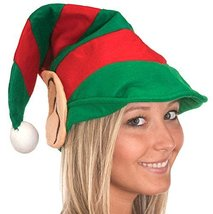 19384 Striped Elf Hat With Ears - €7,77 EUR