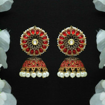 Unique Indian Fashion Handmade Crafted Tribal Jhumka Women Dangle Earrings - $14.99