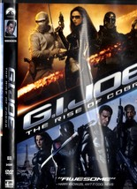 DVD - G. I. Joe The Rise of Cobra - $4.95
