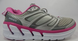 Hoka One One Conquest 2 Size US 9 M (B) EU 41 1/3 Women's Running Shoes Silver