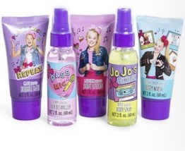 JOJO SIWA Bowtastic Bath and Body Beauty Gift Set Nickelodeon Lotion Bat... - $18.86
