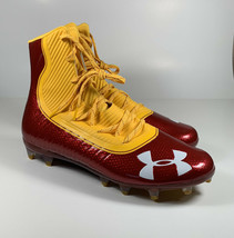 UNDER ARMOUR Highlight MC Football Cleats USC Red Size 12 *NEW* 3021478-... - $37.53