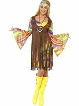 1960s Groovy Lady, 1960's Groovy Fancy Dress, US Size 8-10 #CA - $37.80