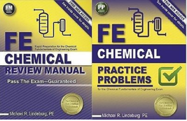 FE Chemical Review Manual AND FE Practice Problems 9781591264453 9781591... - $69.00