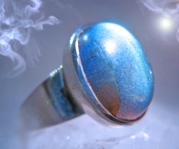 Haunted Ring Master Of Growth & Successes Offer Only Magick 925 7 Scholars - $200.00