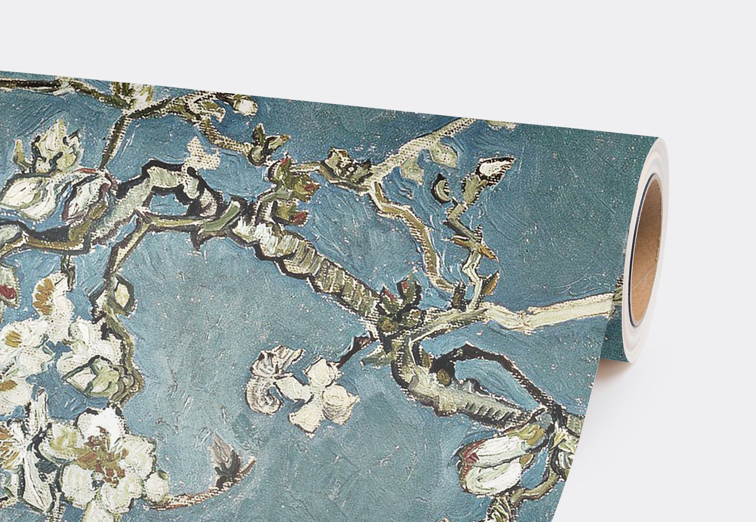 Cherry blossom wallpaper,  Chinoiserie wall mural,  Removable wallpaper