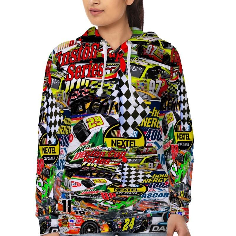 Racing Nascar   Hoodie Fullprint for women