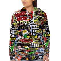 Racing Nascar   Hoodie Fullprint for women - $40.99+