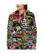Racing Nascar   Hoodie Fullprint for women - $40.99+