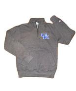 Champion Eco Fleece 1/4 Zip UK Kentucky Wildcats Sweatshirt Small - $20.30