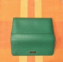 Furla Saffiano Leather Bi-Fold Continental Wallet- Emerald - $190.00
