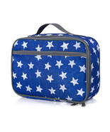 Lunch Box Series Pattern Theme Blue Star Pattern Lunch Bag - £18.77 GBP