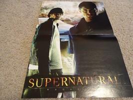 Jensen Ackles Jared Padalecki  teen magazine poster clipping Supernatural dark
