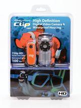 Easy Shot Clip HD 720P Waterproof Digital Video Camera,a 4GB Micro card ... - $58.99