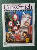 Cross Stitch & Country Crafts Vintage Magazine July August 1986 Patterns - $7.95