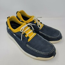 Cole Haan Country Air Mens Boat Shoes  Size 11.5 M Blue Yellow Loafers - $38.87