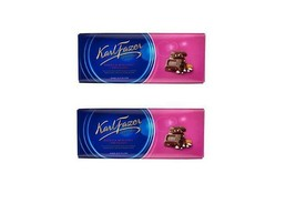 FAZER Nut & Raisin Chocolate Bar 2 x 200g (2 pcs) - $13.85