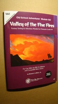Module - VA1 - Valley Of The Five Fires *NM/MT 9.8* Dungeons Dragons Old School - $24.00