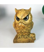 "Vintage Ceramic Hand Painted Owl Statue 6"" x 5"" - $14.85"