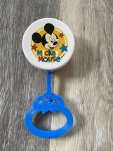 Disney Mickey Mouse Baby Lollipop Style Toy Rattle, BPA-Free Plastic - $3.00