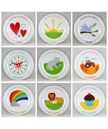 The Fruit of the Spirit Kids Plates SET of 9 Brand NEW BPA-Free Non-Brea... - $53.11