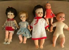 Vintage Doll lot horsman lorrie plastic hard body mid century for restoration  - $24.50