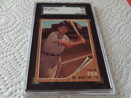 1962   NELLIE  FOX   #  73  TOPPS  CHICAGO  WHITE  SOX    SGC  70    BAS... - $27.99