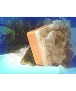 whipped pumpkin pie goats milk soap - $5.25