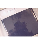 Tommy Hilfiger Navy Cotton Percale Sheet Set Twin - $29.50