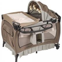 Folding Playpen Baby Crib Nursery Center Deluxe... - $173.03