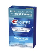 Crest 3D White Whitestrips Vivid Plus Teeth Whitening Kit, 24 Individual... - $38.99+