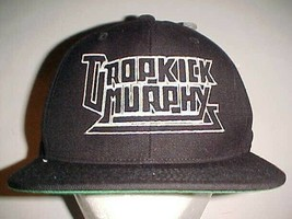 Dropkick Murphys Celtic Punk Band Adult Unisex Black White Cap One Size New - $39.59