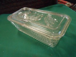 Great Collectible Vintage Federal Glass Refrigerator Jar - $10.80