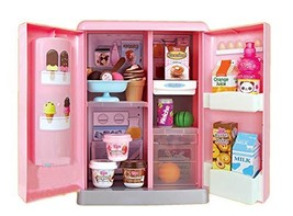 Mimi World Toritori Ice Cream Refrigerator Freezer Color Clay Icecream Making Ma
