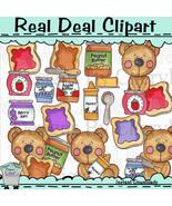 Toast Bears Clip Art - $1.25
