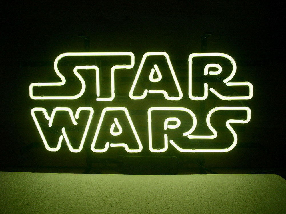 """New Star Wars Beer Bar Pub Real Glass Neon Sign 20""""x16"""""""