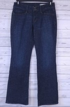 GAP Jeans Ladies Dark Wash Curvy Stretch Denim Jeans Size 6 Reg (n) - $16.19