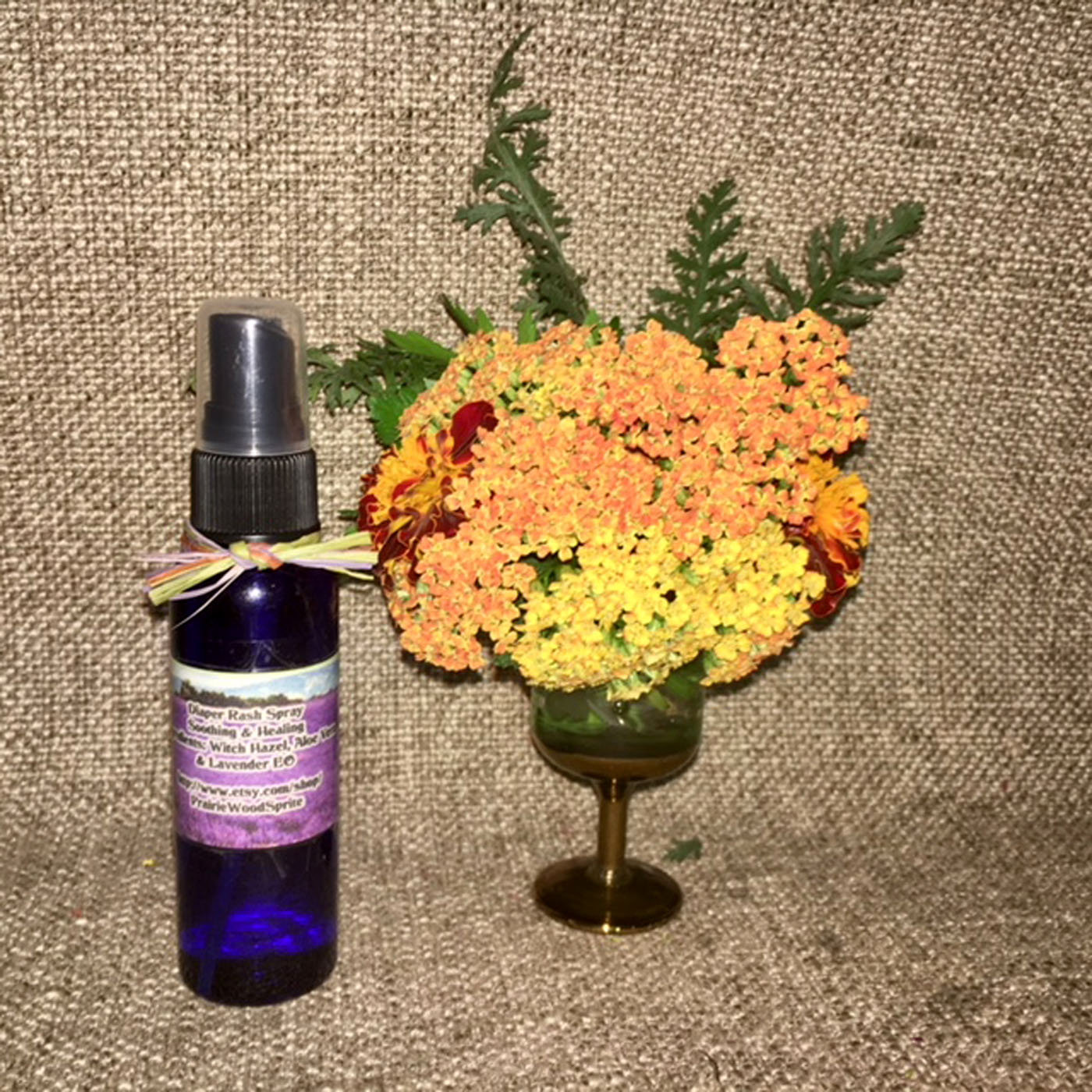 Diaper Rash Spray Formula #6, 2-4oz Cleanse Moisturize Balance pH Soothe Heal Ba image 3