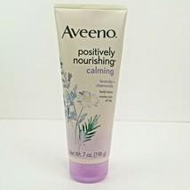 Aveeno Positively Nourishing Calming Lavender + Chamomile Body Lotion 7oz  - $12.50